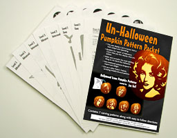 Hollywood Icons Pumpkin Pattern Packet